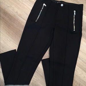 Zara Skinny Leg Crop Leggins
